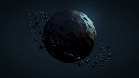 Low Poly Planet Wallpaper - 3D HD Wallpapers