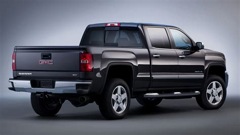 Gmc Sierra 2500 Hd Slt Crew Cab (2015) Wallpapers And Hd