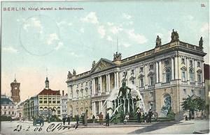 Sparkasse Potsdamer Platz : berlin 1906 koenigl marstall und schlossbrunnen hohi ~ Lizthompson.info Haus und Dekorationen