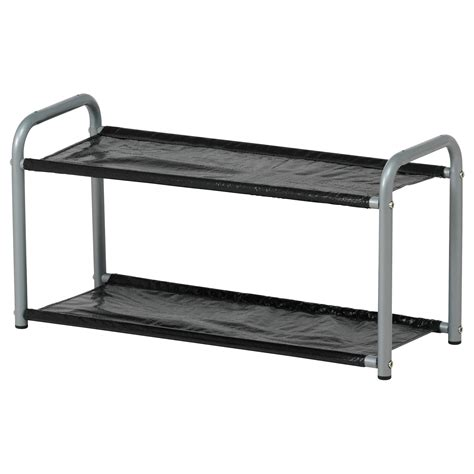 ikea shoe rack lustifik hat shoe rack silver colour black 60 cm ikea