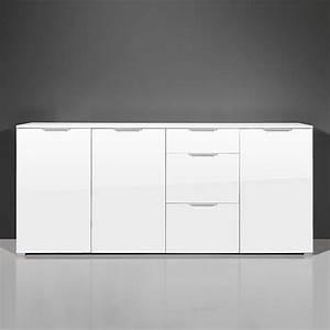 Schlafzimmer Hochglanz Weiß : schlafzimmer sideboard wambada in wei hochglanz ~ Frokenaadalensverden.com Haus und Dekorationen