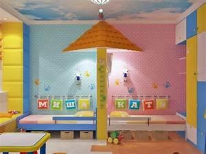 Geschwister Zimmer Einrichten : idee deco chambre enfant mixte ~ Markanthonyermac.com Haus und Dekorationen