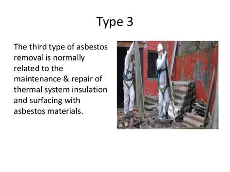 asbestos abatement  removal  types benefits