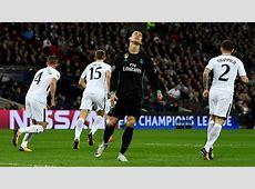 Tottenham H vs Real Madrid Debacle en Wembley
