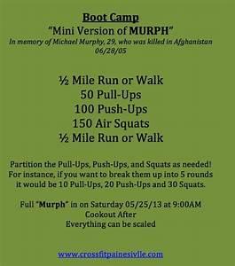 Mini Murph Workout