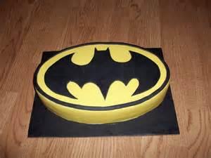 fairy cake topper batman logo