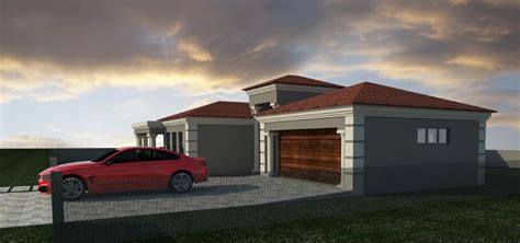 bedroom house plan  double garage muthurwacom