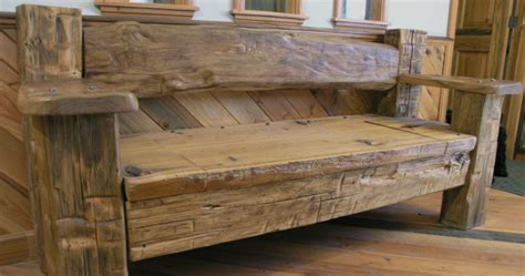 reclaimed wood furniture post