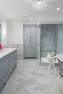 Honed Marble Bathroom by Glass Walk In Shower Ideas Transitional Bathroom Cr