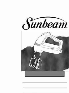 Sunbeam Mixer 2484 User Guide