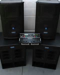 DJ Sound System Packages