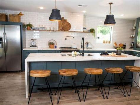 50 best modern farmhouse kitchen island decor ideas 31