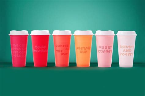 starbucks introduces  holiday reusable cups hypebae