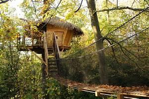 Constructeur Cabane Dans Les Arbres : cabanes dans les arbres en charente maritime annonce maison ~ Dallasstarsshop.com Idées de Décoration