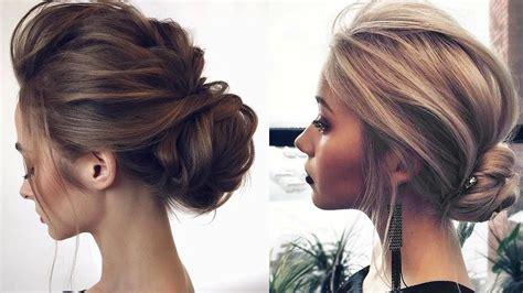 formal updos  medium length hair  prom wedding