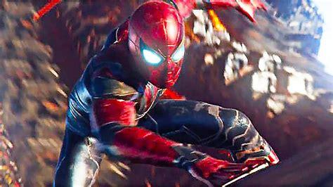 Spiderman Iron Spider Suit Avengers Infinity War Ps4