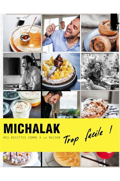 livre de cuisine interforum michalak trop facile 4163702 darty