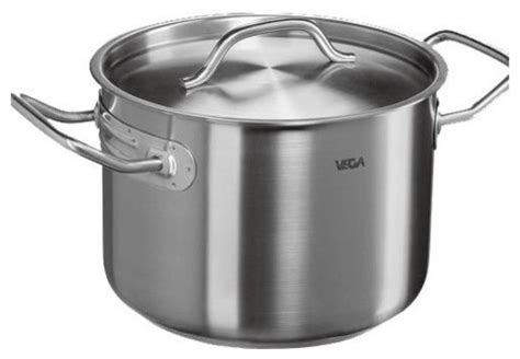 vega cookware professional series stainless steel soup pot contemporary stockpots