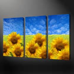 Sunflower Canvas Art Prints