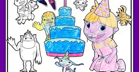 Wallykazaam! Birthday Party Placemats | Nickelodeon Parents