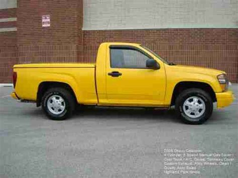 hayes auto repair manual 2006 chevrolet colorado auto manual purchase used 2006 chevy colorado 5 speed manual 4 cylinder gas saver yellow alloys a c cruise