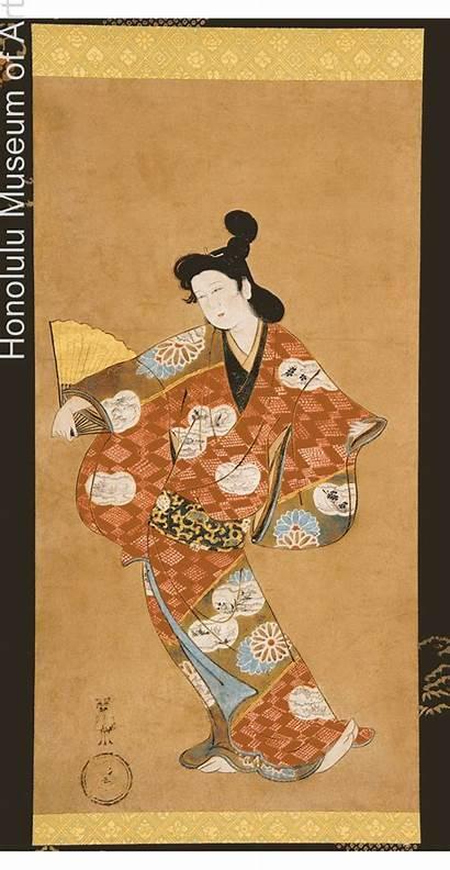 Ukiyo Painting Edo Period Japanese Courtesan Genre