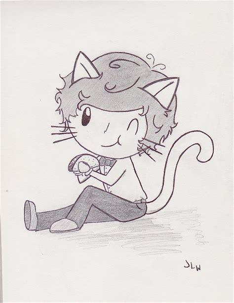 images  cartoon   pinterest chibi cat