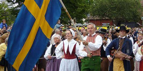 Stockholm Celebrating The Sunny Swedish Midsummer