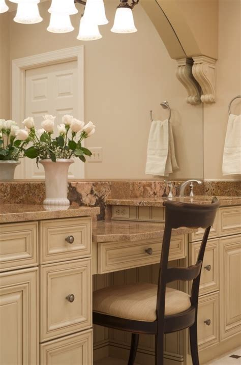 Bathroom Vanity With Makeup Station by Make Up Vanity For The Home