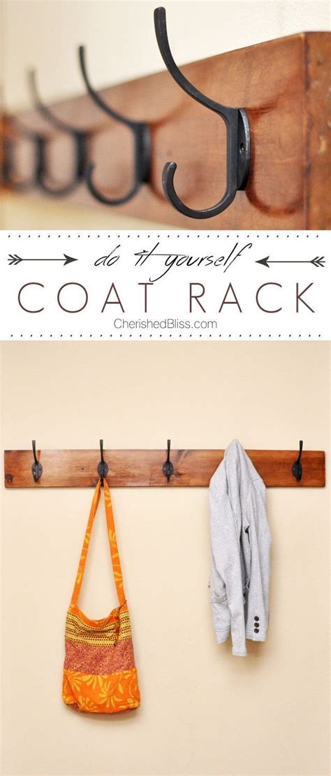diy coat rack tutorial diy coat rack diy coat hooks