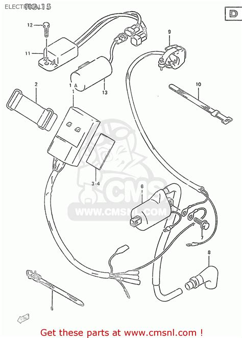 2000 Suzuki Quadrunner Wiring Diagram by Suzuki Rm250 2000 Y Electrical Schematic Partsfiche