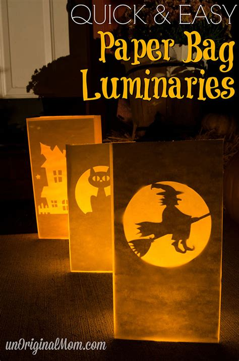 Halloween Luminary Bags Make by Diy Crafts Amp Projects Archives Page 3 Of 21 Unoriginal Mom