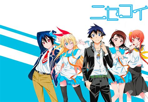 Anime Romance Langsung Tamat Sinopsis Karakter Nisekoi