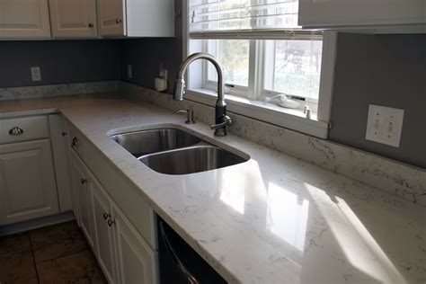 midwest countertops carrara white quartz by aggranite 502a sink by midwest