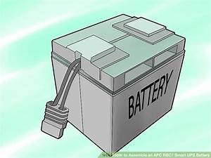 How To Assemble An Apc Rbc7 Smart Ups Battery  With Pictures