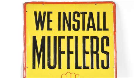 sste mufflers 27x39 walker sign screen ra0715