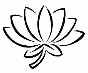 White lotus clipart - Clipground