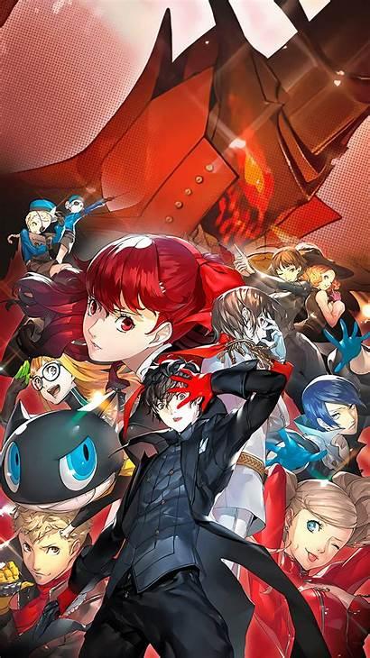 Persona Royal Wallpapers Mikami Raimei Phone Anime