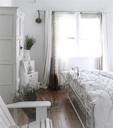décoration chambre shabby