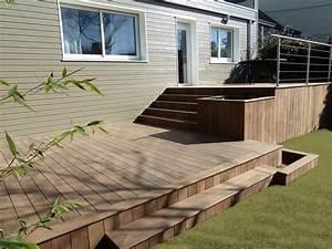 Prix Terrasse Bois : terrasse en bois 44 loire atlantique nantes france ~ Edinachiropracticcenter.com Idées de Décoration