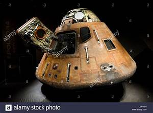 The Command Module from the Apollo 15 moon mission, Saturn ...