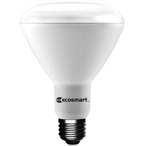 cost of led light bulbs ecosmart 65w equivalent daylight br30 dimmable led light