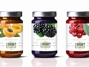 Blackberry Design Guidelines I 39 M Sugarfree Jam Packaging By Kaye Syjueco Dribbble