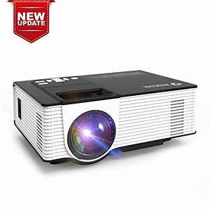 Zeacool Video Projector  Newest Upgrade 2200 Lumens Led