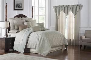 Gwyneth, Pale, Blue, By, Waterford, Luxury, Bedding