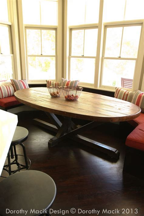 oval kitchen table with bench best 25 oval table ideas on oval dining