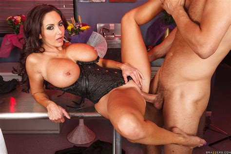 Ava Addams Gets Fucked In A Morgue In Her Black Corset