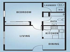 600 Square Feet Apartment Floor Plan 2 Bedroom 600 Square ...