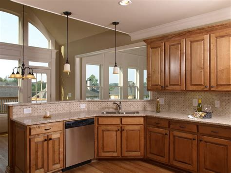 harmonious kitchen paint colors with maple cabinets