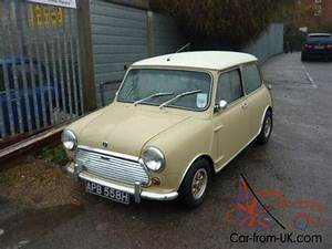 Mini Cooper Beige : 1969 morris mini cooper mk ii in elpaso beige and old english white ~ Maxctalentgroup.com Avis de Voitures